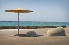 Le dock à Tel Aviv Image stock