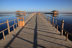 Le dock Image libre de droits
