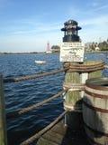 Le dock Image stock