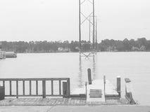 Le dock Photos libres de droits