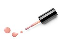 Le doigt de vernis à ongles composent le cosmétique de beauté Images stock