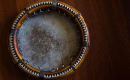 Le doira traditionnel d'instrument de musique d'Ouzbékistan, Images libres de droits
