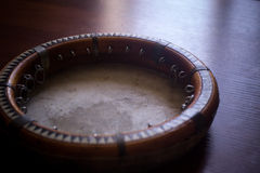 Le doira traditionnel d'instrument de musique d'Ouzbékistan, Photos libres de droits