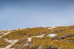 Le dolomia di Italien, Tirolo del sud e italien le alpi, il bello paesaggio della montagna in tempo di autunno Immagini Stock Libere da Diritti