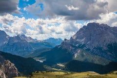 Le dolomia, Italia Fotografia Stock