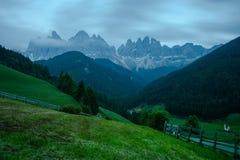 Le dolomia, Italia del Nord Fotografia Stock Libera da Diritti