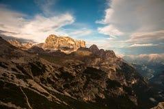 Le dolomia, Italia del Nord Fotografia Stock