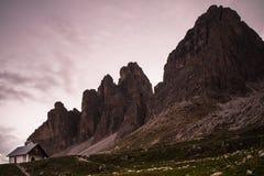 Le dolomia, Italia del Nord Fotografie Stock Libere da Diritti