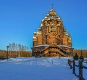 Le domaine Bogoslovka Église de l'intervention du béni images libres de droits