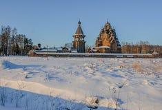 Le domaine Bogoslovka Église de l'intervention du béni photographie stock