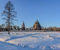 Le domaine Bogoslovka Église de l'intervention du béni photo libre de droits