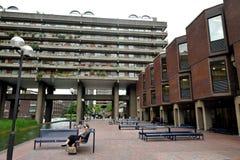 Le domaine de barbacane est un domaine r?sidentiel qui a ?t? ?tabli dans la ville de Londres dans Lon central images libres de droits