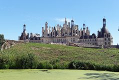 Le domaine national de Chambord Photos stock