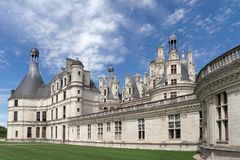 Le domaine national de Chambord Photographie stock libre de droits
