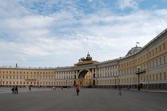 Le domaine principal de rue - Pétersbourg images libres de droits