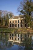 Le domaine seigneurial Oud-Amelisweerd Photo libre de droits