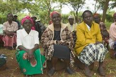 Le donne senza donne dei mariti che sono state ostracizzate dalla società o che hanno perso i loro mariti ed hanno soltanto stess Fotografie Stock