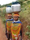 Le donne tribali di Bonda propongono per i ritratti Immagine Stock Libera da Diritti