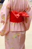 Le dos d'un kimono images stock