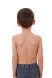 Le dos de l'enfant Photographie stock