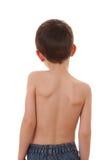 Le dos de l'enfant Photos libres de droits
