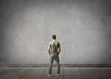 Le dos de l'homme Photographie stock libre de droits