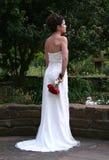 Le dos de la mariée Image stock