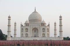 Le dos du Taj Mahal Photo stock