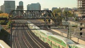 Le double pont vert s'exerce à Toronto, Canada clips vidéos