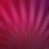 Le doux abstrait a brouillé le fond rose avec des lignes et les rayures dans le modèle de fan ou de starburst, fond assez rose on Images libres de droits