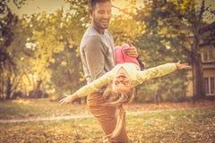 Le doy la libertad Día de padres Estación del otoño fotos de archivo