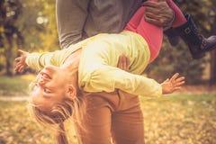 Le doy la libertad Día de padres Estación del otoño imagenes de archivo
