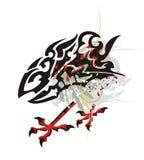 Le dragon éclabousse des pattes d'aigle illustration libre de droits