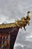 Le dragon est Images stock