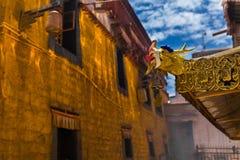 Le dragon oriental antique mystérieux images libres de droits
