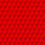 Le dragon rouge mesure la texture sans couture de fond Photographie stock