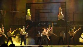 Le drame de renommée mondiale de danse : Notre Dame de Pari Images libres de droits