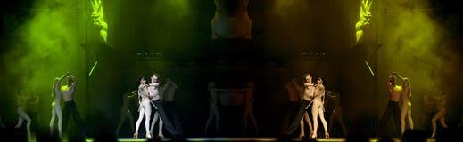 Le drame de renommée mondiale de danse : Notre Dame de Pari Photo stock