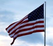 Le drapeau américain Images libres de droits