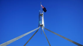 Le drapeau australien Photo stock