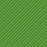 Le drapeau brésilien de modèle de rayure colore la diagonale Photos libres de droits