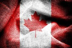 le drapeau de Canada. Image libre de droits