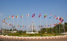 Le drapeau de chaque pays Image libre de droits