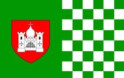 Le drapeau de Comté de Limerick est un comté en Irlande photographie stock libre de droits