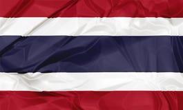 Le drapeau de la Thaïlande Photos libres de droits