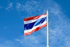 Le drapeau de la Thaïlande Photos stock