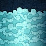 Le drapeau de mer Image libre de droits