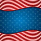 Le drapeau des Etats-Unis d'abrégé sur Memorial Day colore le fond illustration stock