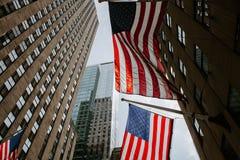 Le drapeau des USA images libres de droits