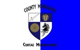 Le drapeau du comté Monaghan est un comté en Irlande photos libres de droits